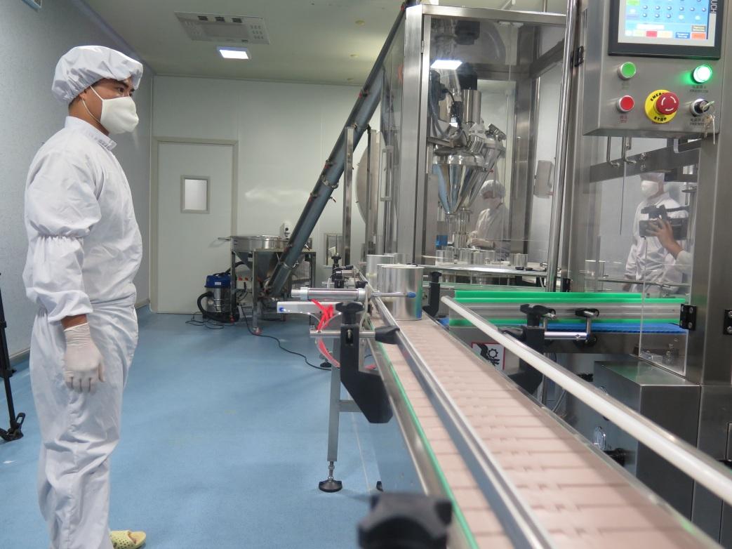 quy trình công nghệ sản xuất sữa bột